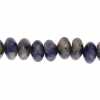 Sodalite 8mm Rondelle (Flat Round) 35pcs Approx